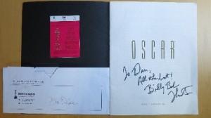 1997 03 24 Oscar ticket program envelope