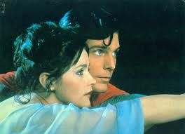 """Christopher Reeve and Margot Kidder in 1978's """"Superman"""""""