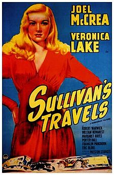 a paper on classic hollywood and satire in the movie sullivans travels Sullivan's-travels1941 this is a satire about the movie industryhollywood in this preston sturges-directed movie is good stuff and a classic film that.