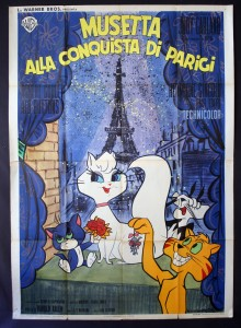 Gay Purr-ee Italian poster