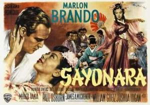 Sayonara-poster