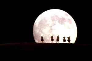 malcolm x moon