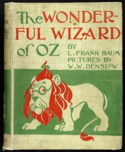 wonderful wizard of oz original cover