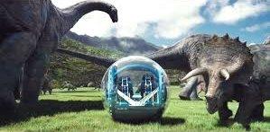 Jurassic world gyro and 2 dinos