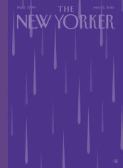 New Yorker - Purple Rain